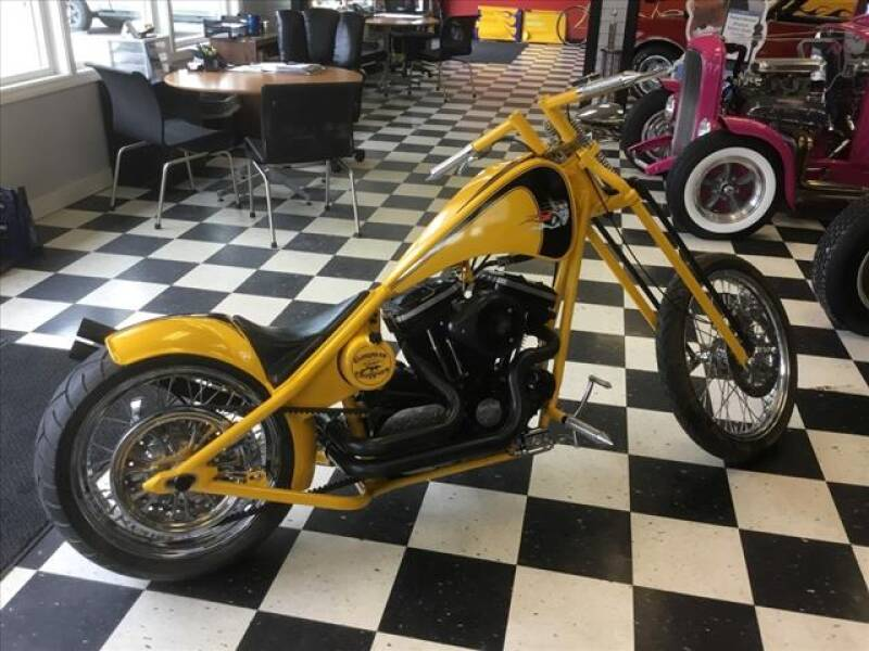 2007 GANGSTER CHOPPER CUSTOM CHOPPER for sale at SHAKER VALLEY AUTO SALES in Enfield NH