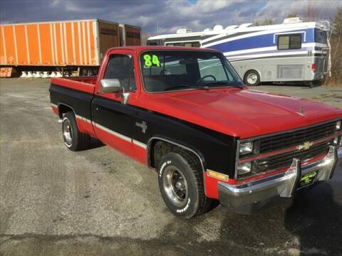 1984 Chevrolet C/K 10 Series for sale at SHAKER VALLEY AUTO SALES in Enfield NH