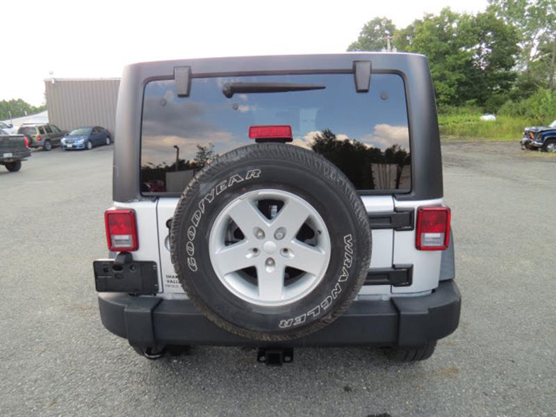 2011 Jeep Wrangler Unlimited 4x4 Sport 4dr SUV - Enfield NH