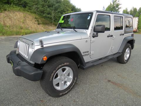2011 Jeep Wrangler Unlimited for sale in Enfield, NH