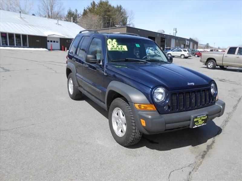 2006 Jeep Liberty Sport 4dr SUV 4WD - Enfield NH