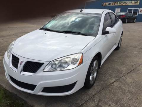 2010 Pontiac G6 for sale at JEFF LEE AUTOMOTIVE in Glasgow KY