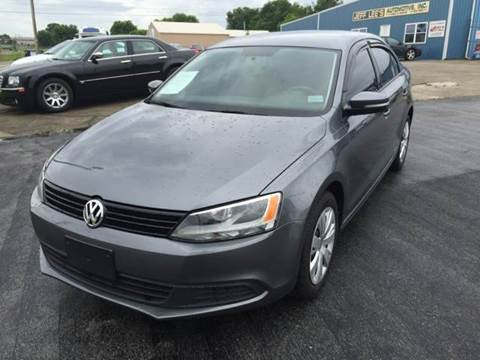 2012 Volkswagen Jetta for sale at JEFF LEE AUTOMOTIVE in Glasgow KY