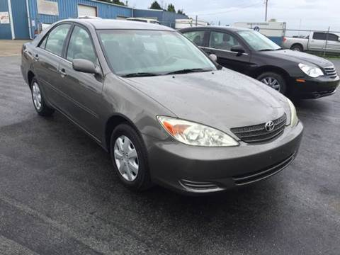 2003 Toyota Camry for sale at JEFF LEE AUTOMOTIVE in Glasgow KY