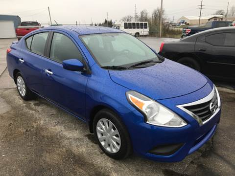 2015 Nissan Versa for sale at JEFF LEE AUTOMOTIVE in Glasgow KY
