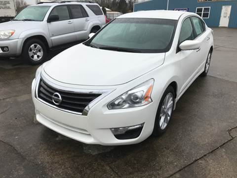 2014 Nissan Altima for sale at JEFF LEE AUTOMOTIVE in Glasgow KY