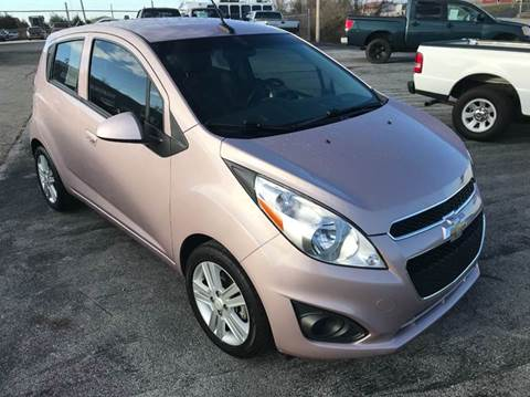 2013 Chevrolet Spark for sale at JEFF LEE AUTOMOTIVE in Glasgow KY