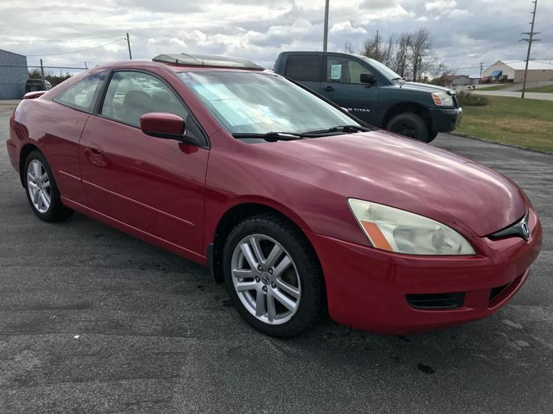 2004 Honda Accord for sale at JEFF LEE AUTOMOTIVE in Glasgow KY