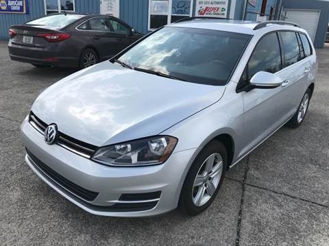 2015 Volkswagen Golf SportWagen for sale at JEFF LEE AUTOMOTIVE in Glasgow KY