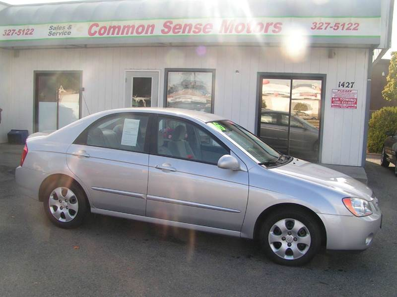 2006 Kia Spectra for sale at Common Sense Motors in Spokane WA