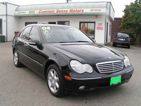 2004 Mercedes-Benz C-Class for sale at Common Sense Motors in Spokane WA