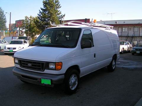 2004 Ford E-Series Cargo for sale at Common Sense Motors in Spokane WA