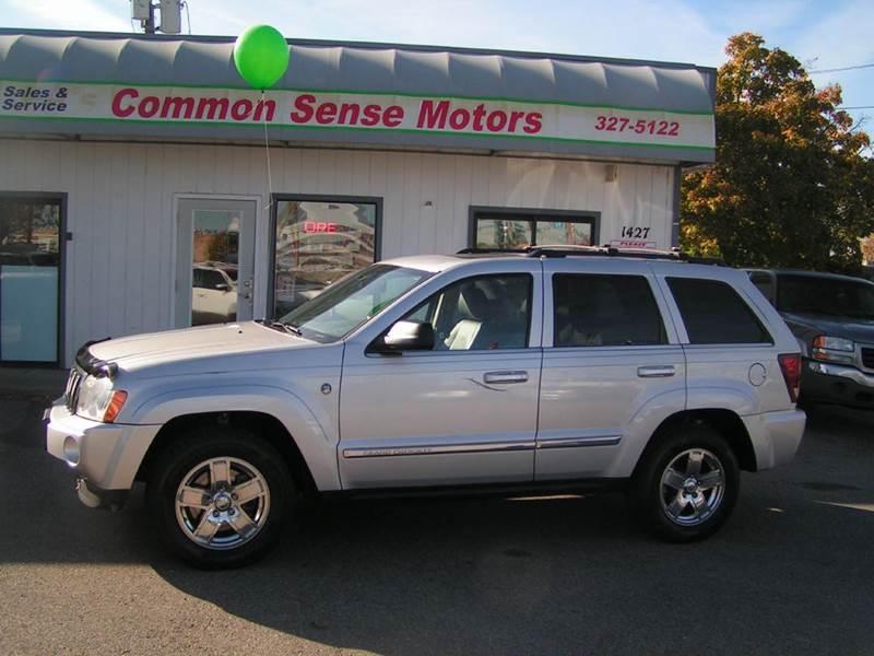 2005 Jeep Grand Cherokee for sale at Common Sense Motors in Spokane WA
