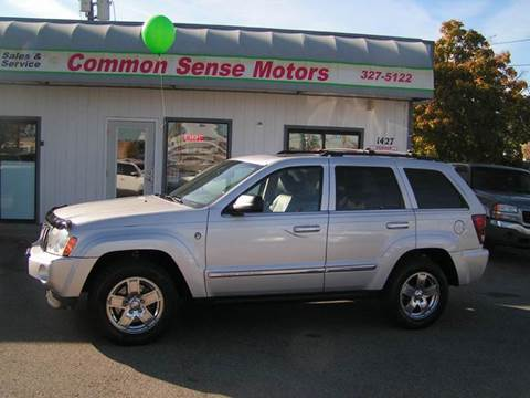 2005 Jeep Grand Cherokee for sale at Common Sense Motors in Spokane WA