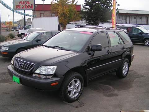 2001 Lexus RX 300 for sale at Common Sense Motors in Spokane WA