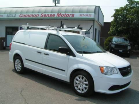 2015 RAM C/V for sale at Common Sense Motors in Spokane WA