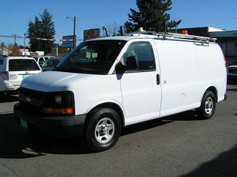 2007 Chevrolet Express Cargo for sale at Common Sense Motors in Spokane WA