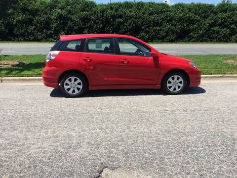 2005 Toyota Matrix for sale in Raleigh, NC