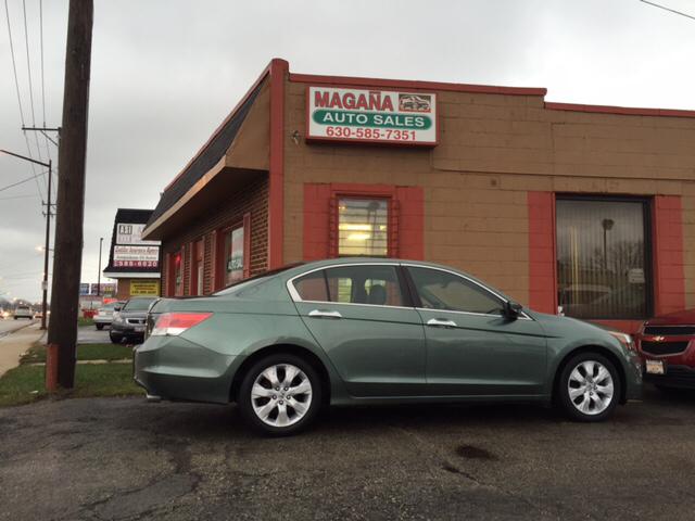 2008 Honda Accord for sale at Magana Auto Sales Inc. in Aurora IL