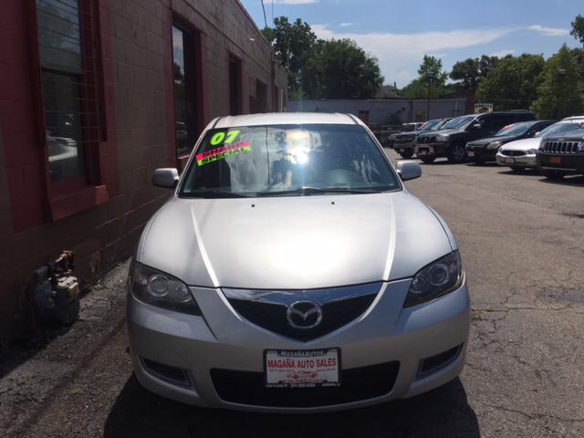 2007 Mazda MAZDA3 for sale at Magana Auto Sales Inc. in Aurora IL