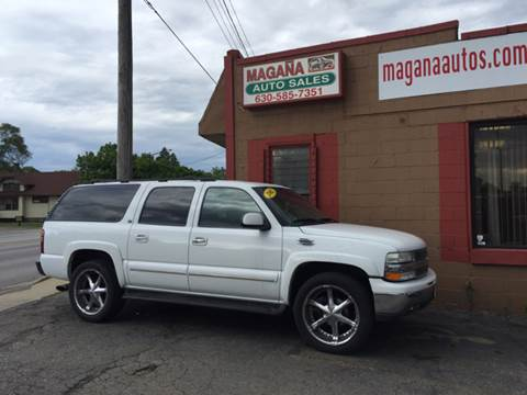 2002 Chevrolet Suburban for sale at Magana Auto Sales Inc. in Aurora IL