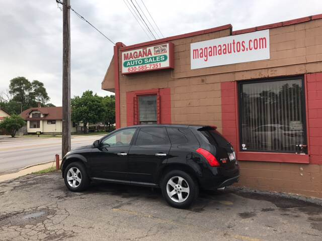 2005 Nissan Murano for sale at Magana Auto Sales Inc. in Aurora IL