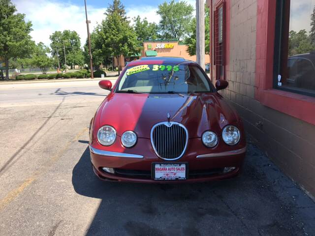 2003 Jaguar S-Type for sale at Magana Auto Sales Inc. in Aurora IL