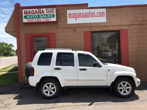 2007 Jeep Liberty for sale at Magana Auto Sales Inc. in Aurora IL
