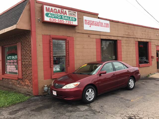 2003 Toyota Camry for sale at Magana Auto Sales Inc. in Aurora IL