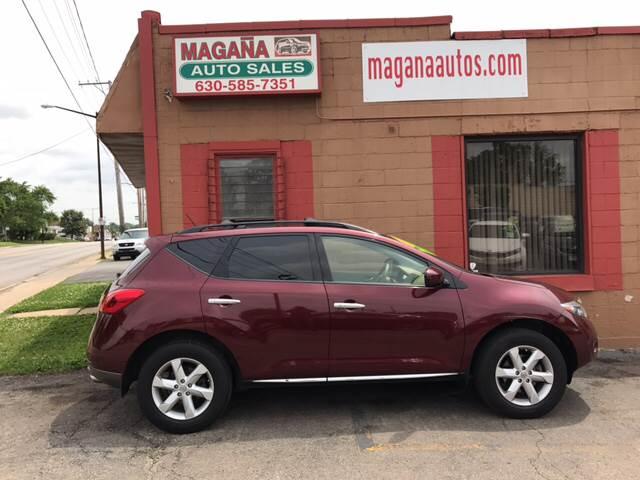 2009 Nissan Murano for sale at Magana Auto Sales Inc. in Aurora IL