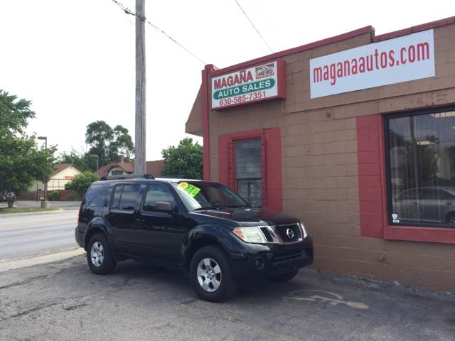 2008 Nissan Pathfinder for sale at Magana Auto Sales Inc. in Aurora IL