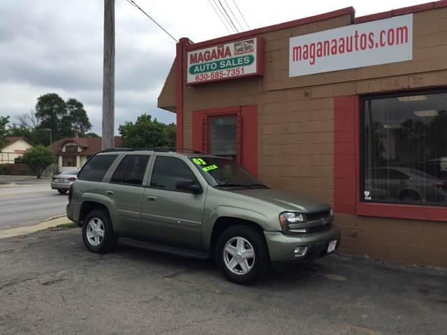 2003 Chevrolet TrailBlazer for sale at Magana Auto Sales Inc. in Aurora IL