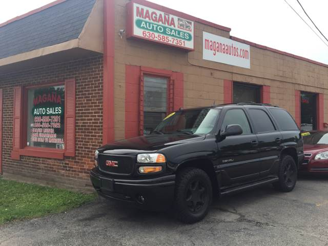 2005 GMC Yukon for sale at Magana Auto Sales Inc. in Aurora IL