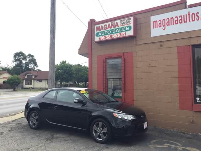 2010 Kia Forte Koup for sale at Magana Auto Sales Inc. in Aurora IL