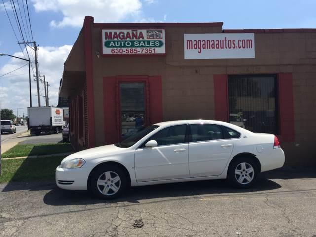 2006 Chevrolet Impala for sale at Magana Auto Sales Inc. in Aurora IL