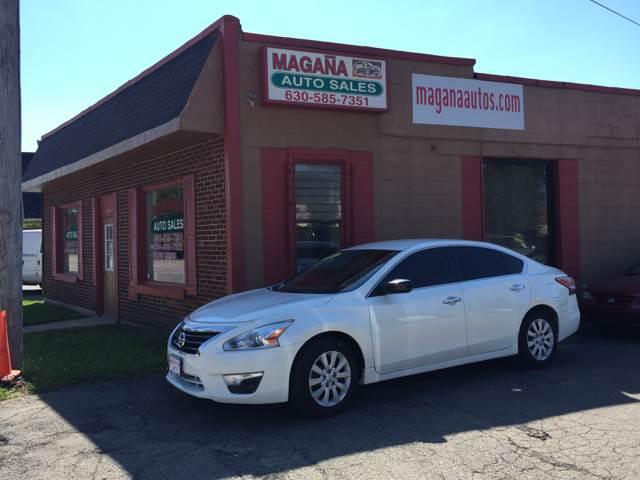 2013 Nissan Altima for sale at Magana Auto Sales Inc. in Aurora IL