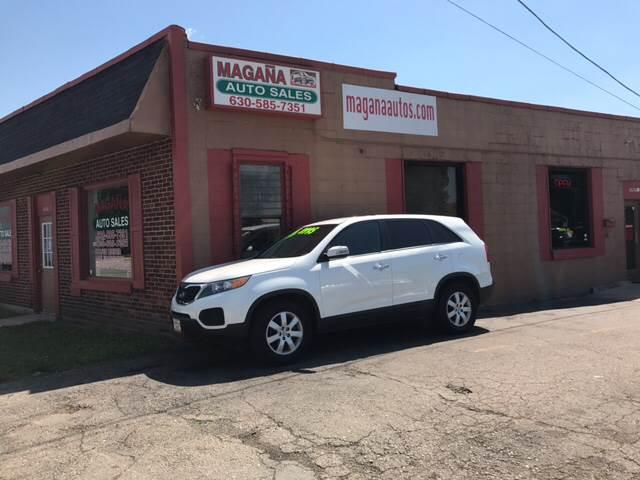 2012 Kia Sorento for sale at Magana Auto Sales Inc. in Aurora IL
