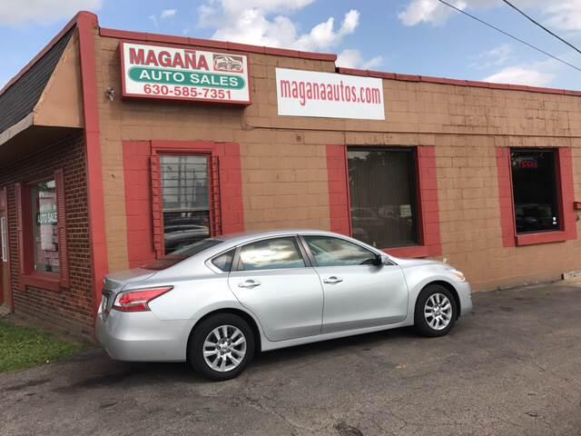 2014 Nissan Altima for sale at Magana Auto Sales Inc. in Aurora IL