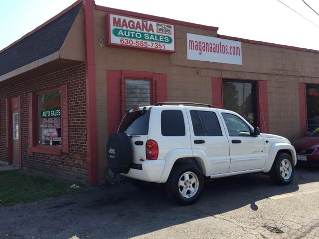 2003 Jeep Liberty for sale at Magana Auto Sales Inc. in Aurora IL