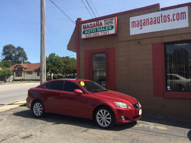2006 Lexus IS 250 for sale at Magana Auto Sales Inc. in Aurora IL