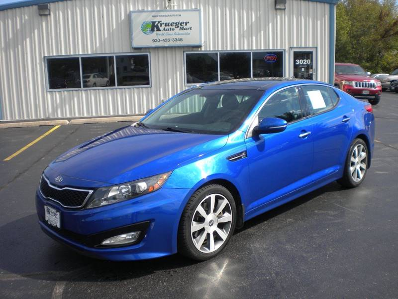 2012 Kia Optima SX Turbo 4dr Sedan 6A   Oshkosh WI