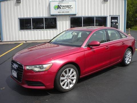 2014 Audi A6 for sale in Oshkosh, WI
