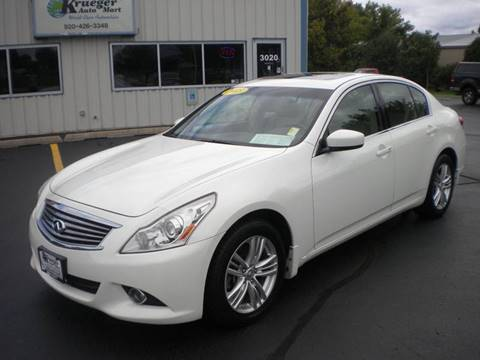2013 Infiniti G37 Sedan for sale in Oshkosh, WI