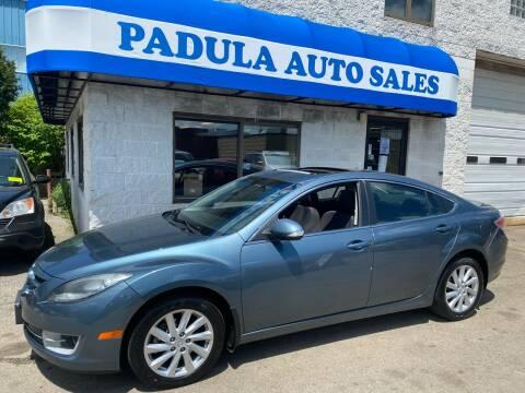 2012 Mazda MAZDA6 for sale at Padula Auto Sales in Braintree MA