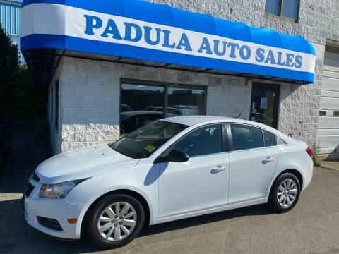2011 Chevrolet Cruze for sale at Padula Auto Sales in Braintree MA