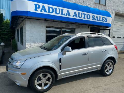 2012 Chevrolet Captiva Sport for sale at Padula Auto Sales in Braintree MA