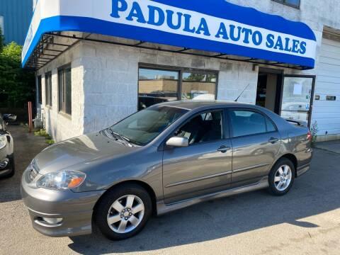 2008 Toyota Corolla for sale at Padula Auto Sales in Braintree MA
