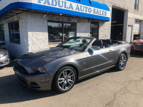 2014 Ford Mustang for sale at Padula Auto Sales in Braintree MA
