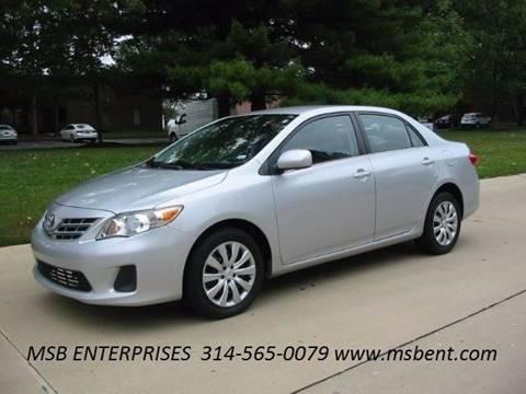 2013 Toyota Corolla for sale in Fenton, MO