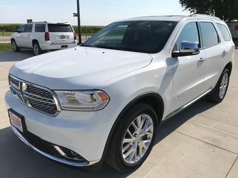2014 Dodge Durango for sale in Webster City, IA